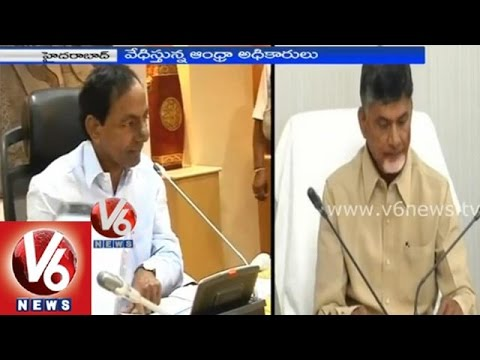 Telangana employees face problems in AP government