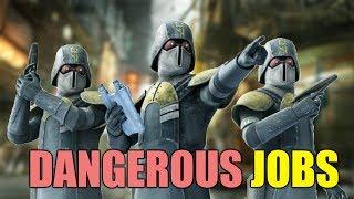 Most Dangerous Jobs in Star Wars