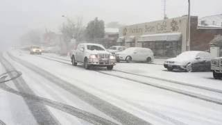 Oberon Australia  City new picture : Heavy Oberon Snow Fall June 24, 2016