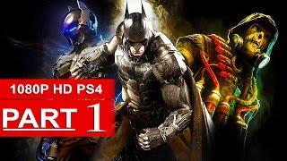 Batman Arkham Knight Gameplay Walkthrough Part 1 [1080p HD PS4] - No Commentary