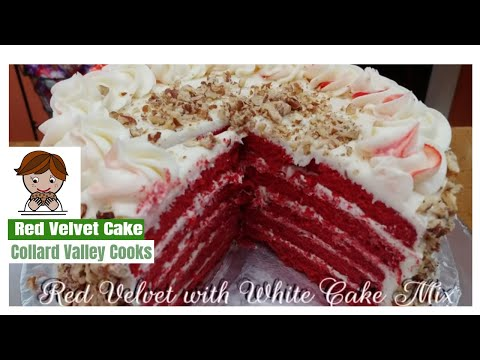 The Best Red Velvet Cake that Anyone can make! Just try it!