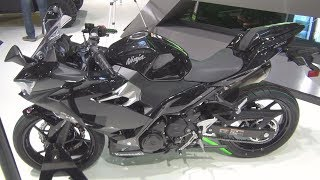 10. Kawasaki Ninja 400 Black Metallic Spark Black (2019) Exterior and Interior