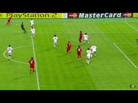 gerrard goal UCL final 2005