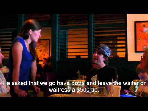 Aaron's Last Wish - A $500 Tip For Pizza