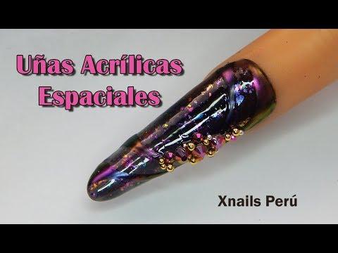 Uñas acrilicas - Uñas Acrílicas Espaciales / Xnails Peru