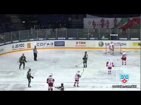 Бой КХЛ: Панин VS Поснов / KHL Fight: Panin VS Posnov (видео)