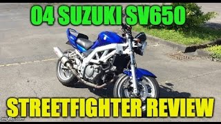 5. My Suzuki SV650 Review + Shift Lever Falls Off