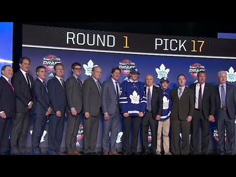 Video: Leafs use 17th pick on Timothy Liljegren