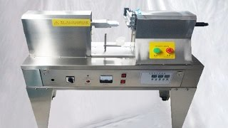 Ultrasonic plastic tube sealing machine is suitable for toothpaste, cosmetics, medicines, food industrial supply etc. With horizontal aluminum alloy structure, stainless steel package, environment friendly and sanitation.With independent platform, vertical /horizontal adjustable worktable, worktable, easy operation stable performance ,high efficiency.basic parameter of model YX-125 Tabletop type ultrasonic tubes sealing machine semi automatic tube seal closing equipment Máquina selladora de tubos:Environmental temperature 0°C +35°CEnvironment humidity relative humidity below 85%Working Height  0-300mm(Can be Customized)Air pressure  0.2----0.6 MPaMaximum output power  1250WTube height  50~180mm Tube diameter  F5~F50 mmWorking table  vertical/horizontal adjustable worktableUltrasonic working frequency  20kHZ Weight  100kg(Gross weight)Working principle of tubes sealing machine semi automatic:Utilizing the energy produced by c high-speed vibration imposed on the tube and act on plastic tube in order heat the plastic tube rapidly and welding , under pneumatic mechanical pressure, forming the sealing the sealing patterns of to head mould foot mould while removal of excess material to reach good effect at last .Advantage of sealing machine semi automatic for tubes:1.Two dimensional adjustment of work piece platform, it is easy to operate.2.It adopts Taiwan cassette mechanism and circuit Lines, using famous brand of Ultrasonic parts.3.Overload protection, phase separation protection, power-fail protection.4. Large Ultrasonic Out put power to ensure the sealing quality of various specifications of tube.5. It can sealing soft tube also can printing date and cutting.After-sales service on model YX-125 Tabletop type ultrasonic tubes sealing machine semi automatic tube seal closing equipment Máquina selladora de tubos:Guarantee: for all the machine, it claims one year for guarantee.(Excluded from the warranty are problems due to accidents, misuse,misapplication, storage damage