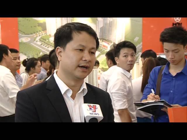Chung cư moncity Mon City tham dự Hội chợ triển lãm Bất động sản Việt Nam 2015 _ Truyền hình Thông tấn xã Việt Nam