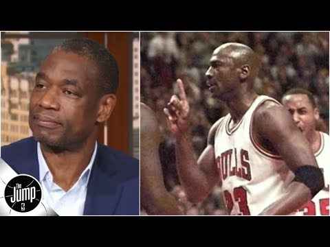Video: Dikembe Mutombo on that time Michael Jordan gave him the finger wag   The Jump