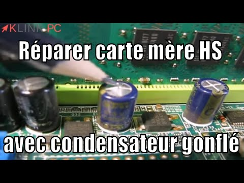 comment reparer carte mere pc portable