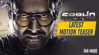 Saaho Movie Latest Motion TEASER   Prabhas   Shraddha Kapoo