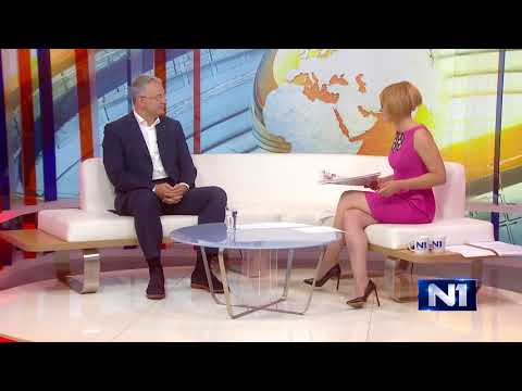 Драган Шутановац у емисији Тема јутра на Н1 ТВ, 16.08.2017.