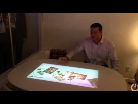 Sony 4K short-throw projector, wall panel screen and smart table projector