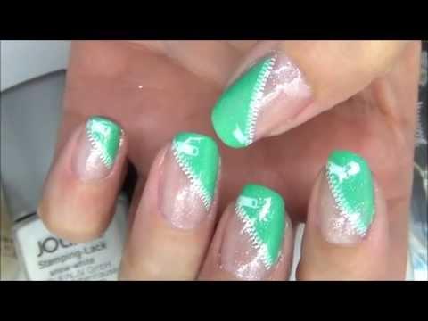 nail art con zip