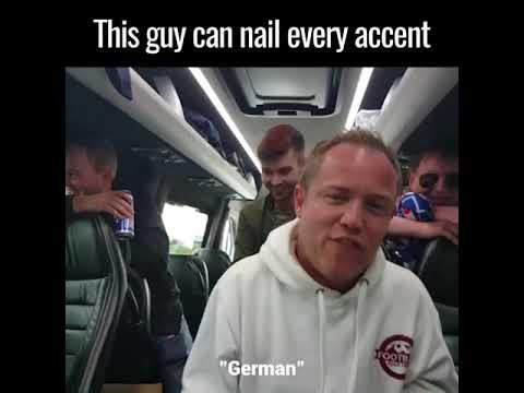Kaveri vääntää enkkuu eri kielillä – Hassu jamppa!