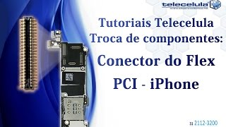 Como Trocar (Soldar) o Conector do Flex na placa FPC iPhone  - TELECELULA