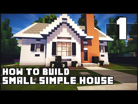 Minecraft – How to Build : Simple Small House – Part 1