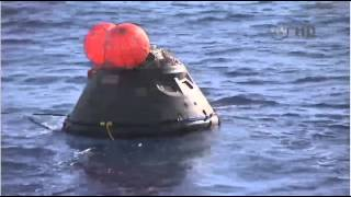 Navy And NASA Teams Recover Orion After Successful Test Flight