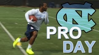 Coaches and scouts from all 32 NFL teams were in attendance at North Carolina's annual pro day. Check out the sites and...