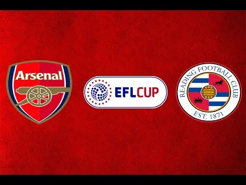 Arsenal VS Reading - EFL Cup - ARS 2 - 0 REA 25/10/2016 Replay