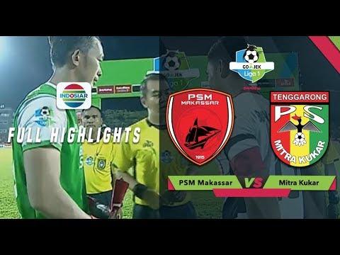 PSM MAKASSAR (3) vs MITRA KUKAR (1) - Full Highlight   Go-Jek Liga 1 bersama Bukalapak