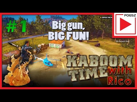 KABOOM! time med Rico. Episode 1