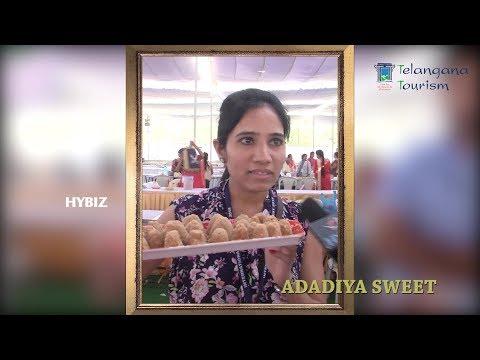 , Sweet Festival Hyderabad 2018-Rubina from Gujarat