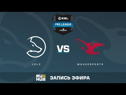 Twitch - LDLC vs Mousesports - ESL Pro League S6 EU - de_cache [Crystalmay, sleepsomewhile]