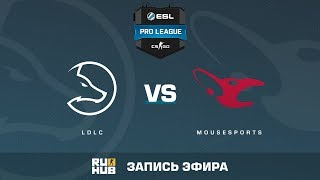 LDLC vs Mousesports - ESL Pro League S6 EU - de_cache [Crystalmay, sleepsomewhile]