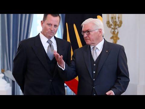 Ankunft in Berlin: Richard Grenell, neuer US-Botschafte ...