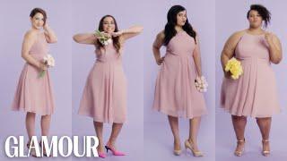 Video Women Sizes 0 Through 28 Try on the Same Bridesmaid Dress | Glamour MP3, 3GP, MP4, WEBM, AVI, FLV Maret 2018