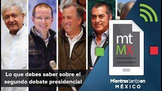Video Lo que debes saber sobre el segundo debate presidencial MP3, 3GP, MP4, WEBM, AVI, FLV Mei 2018