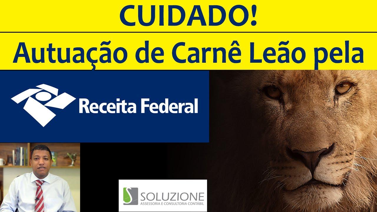 Cruzamento do Carnê Leão pela Receita Federal