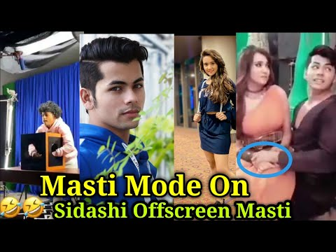 Masti Mode On Sidashi Offscreen From The Set Of Aladdin Nam To Suna Hoga|Ashi(Yasmine) Siddharth