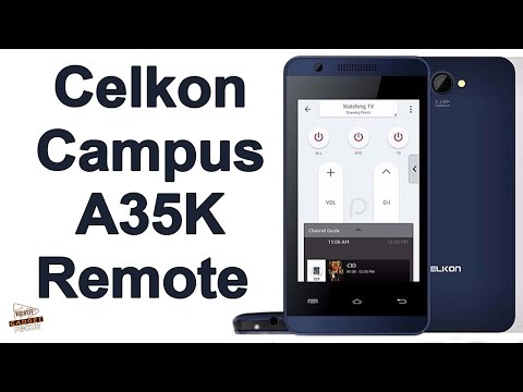 Celkon Campus A35K Remote With Universal Remote Launched