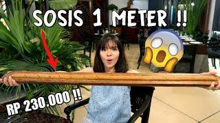 Video Bikin Melongo! Sosis Sepanjang 1 Meter Seharga RP 1/4 Juta !! MP3, 3GP, MP4, WEBM, AVI, FLV November 2018