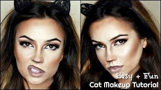 Cat Makeup Tutorial Halloween   TheMakeupChair