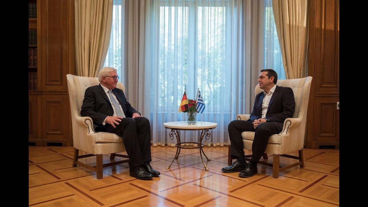Συνάντηση με τον Πρόεδρο της Γερμανίας κ. Φρανκ-Βάλτερ Σταϊνμάιερ