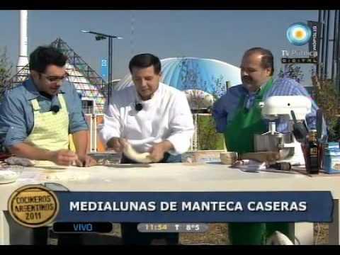 Clase magistral de panadería por José Luis Elías, medialunas