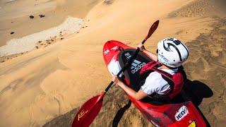 Watch another epic desert session - sandboarding gets taken up a notch w. an assist from a rally car: http://win.gs/Sandboarding...