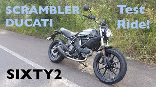 Ducati Scrambler Sixty2 Test Ride | The new 400cc Scrambler from Bologna!