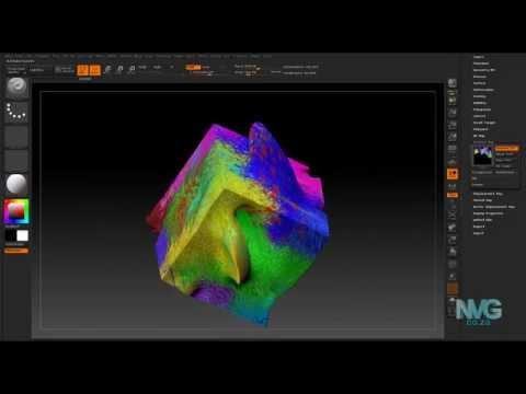 ZBL1 How to transferring texture map from one model to another in Zbrush