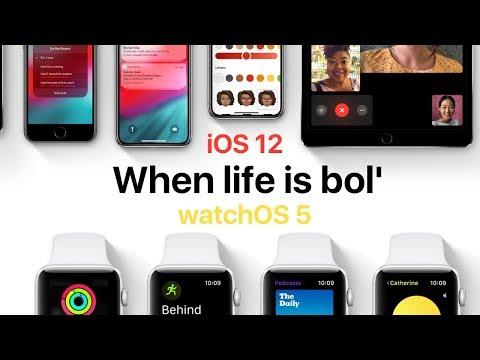 БЕТА iOS 12 и watchOS 5 - все проблемы в одном видео. Стоит ли обновляться? (видео)