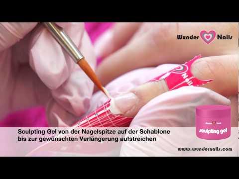 UV French Gel Gelnägel REPARATUR von Wunder Nails zum selber machen – Step by Step Anleitung