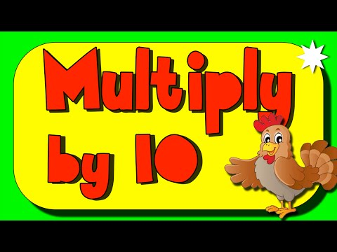 Multiplication Song (multiplizieren 10) + Lyrics