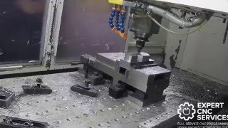 Milling some steel with HSM Works