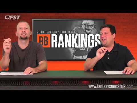 2018 Fantasy Football Running Back Tiers and Rankings thumbnail