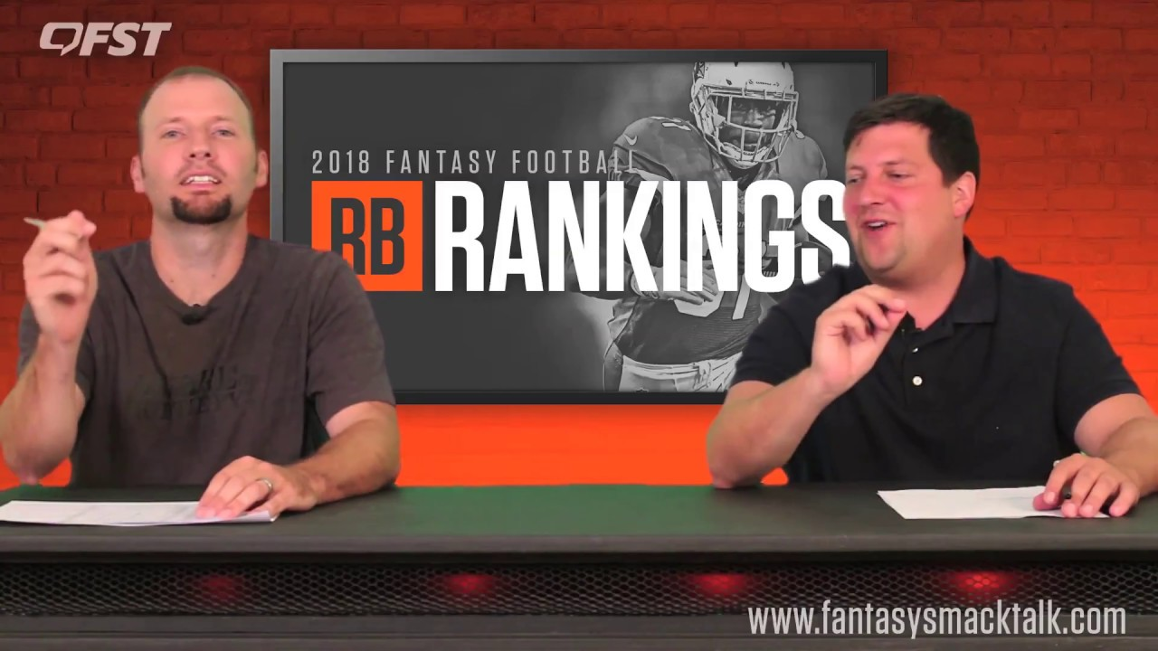 2018 Fantasy Football Running Back Tiers and Rankings thumbnail